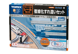 Tomix 91028 Double Track Rail Basic Set N Scale