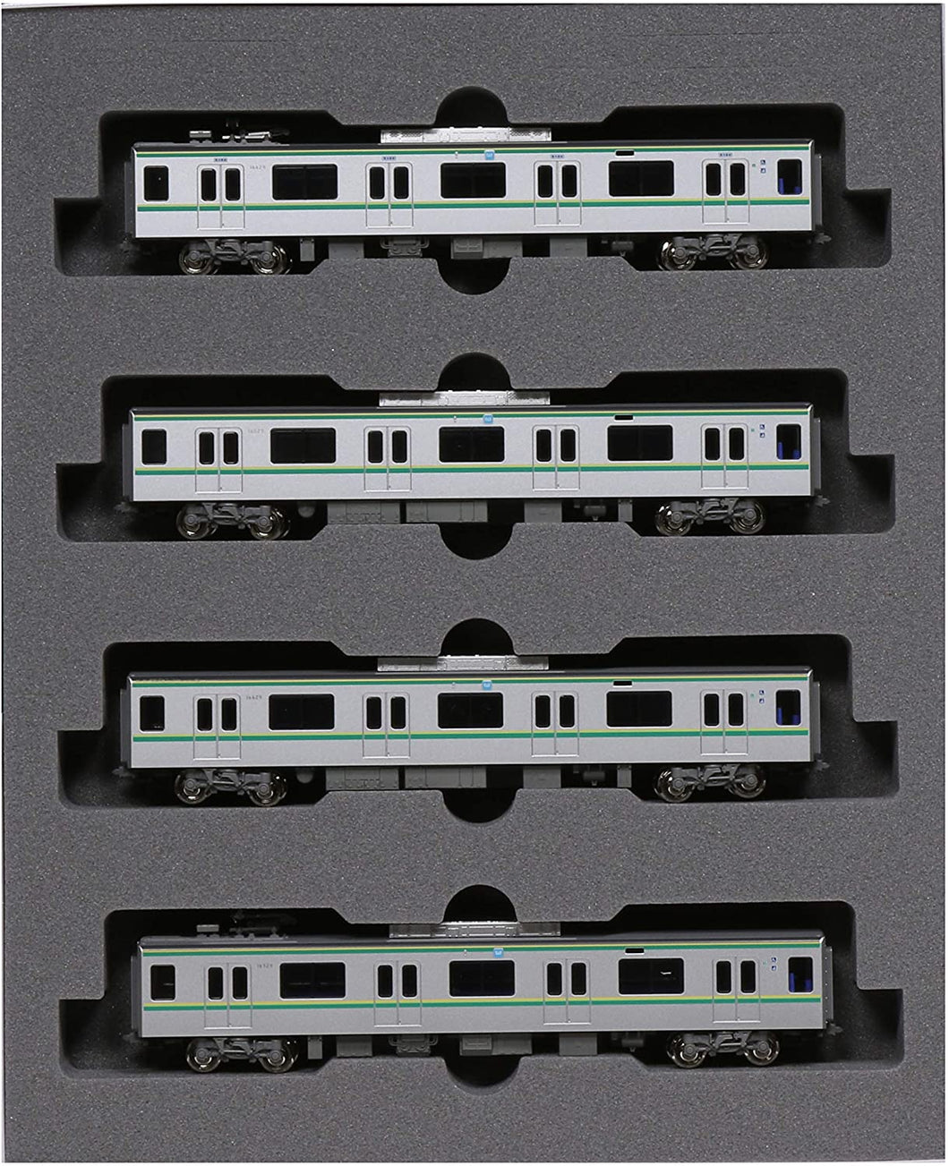 Kato 10-1606 Tokyo Metro Chiyoda Line Series 16000(5th) 4-Car Add-on Set N Scale