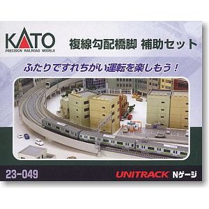 Kato 23-049 Double Track Viaduct Gradual Pier Set N Scale