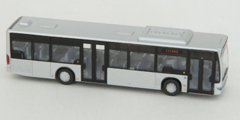 Tomytec WB005 World Bus Collection Mercedes-Benz Citaro 0530 Silver N Scale