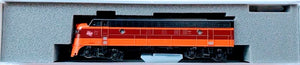 Kato 17711-3 EMD FP7A Milwaukee Road #95C N Scale
