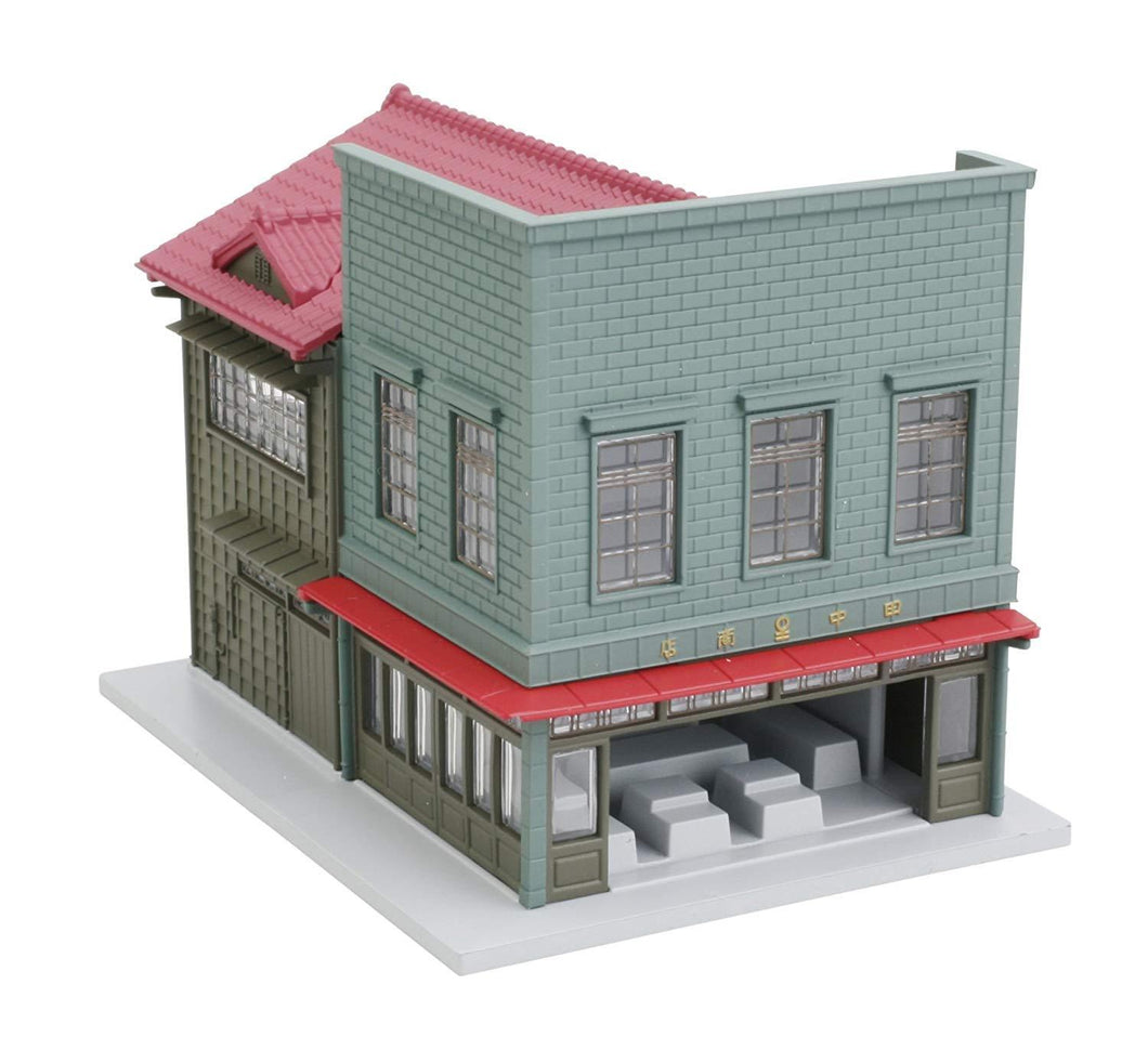 Kato 23-475 Corner Store 1 for Signboard Construction Copper  Left N Scale