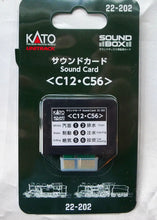 Kato 22-202 UNITRACK Sound Card C12 C56 N Scale