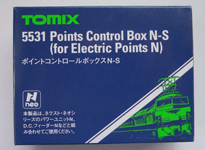 Tomix 5531 Point Control Box N-S for Electric Points N / 1/150 N Scale