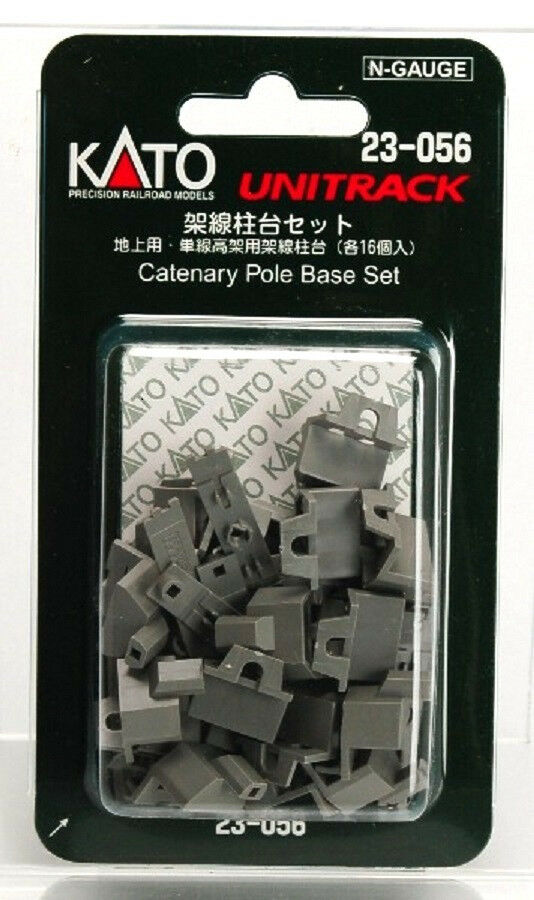 Kato 23-056 Catenary Poles Base Set 23-056