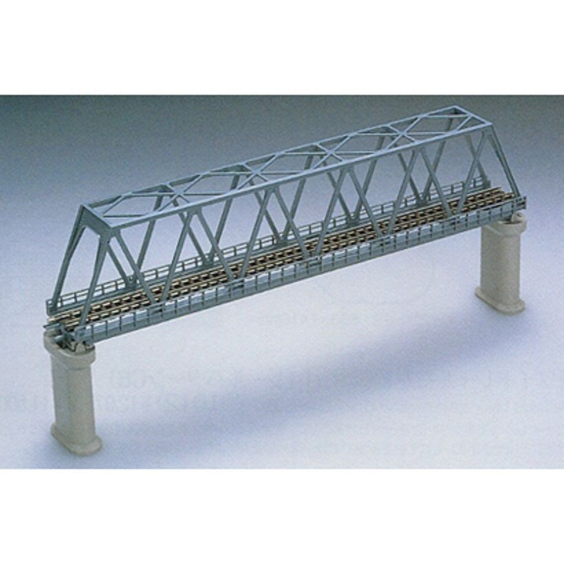 Tomix 3030 Truss Bridge Set Blue 2 Concrete Piers N Scale