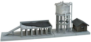 Tomytec Scene Accessory 082-2 Water Tower & Coal Bunker B2  zn zScale