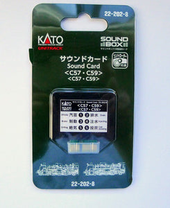 Kato 22-202-8 UNITRACK Sound Card C57 / C59 N Scale