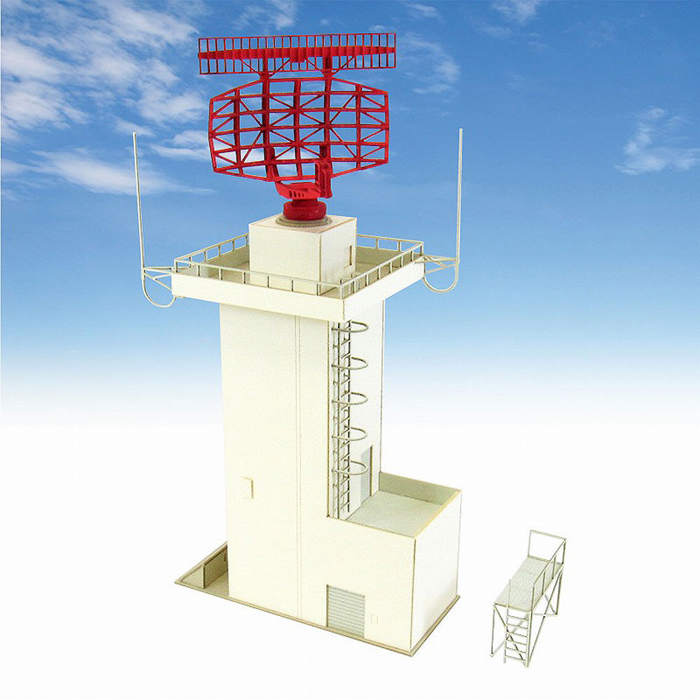 Sankei 1/144 MK08-05 Aviation Aircraft Radar Tower Paper Craft like N Scale
