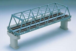 Tomix 3051 Double Track Truss Bridge Set 2 Concrete pcs  N Scale
