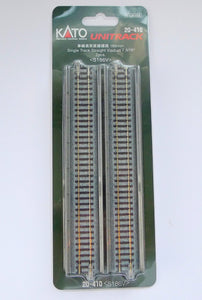 Kato 20-410 186mm Single Viaduct Track S186V N Scale