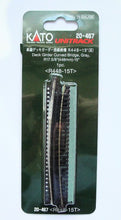 Kato 20-467 UNITRACK R448mm-15º Deck Girder Curved Bridge Gray N Scale