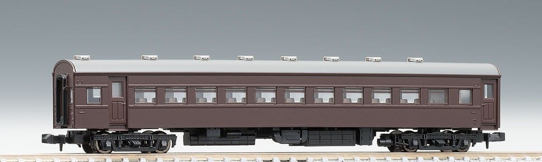 Tomix 9515 Passenger Car OHAFU 62 Brown N Scale