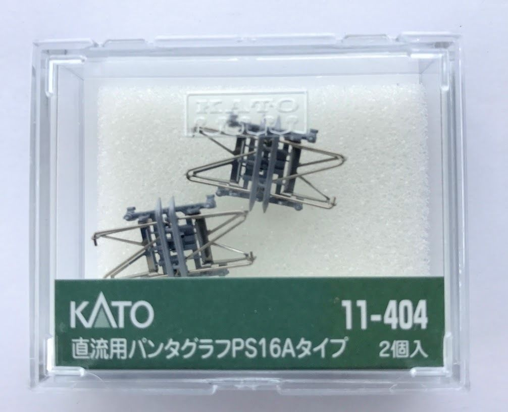 Kato  11-404 DC Pantograph Type PS16A N Scale