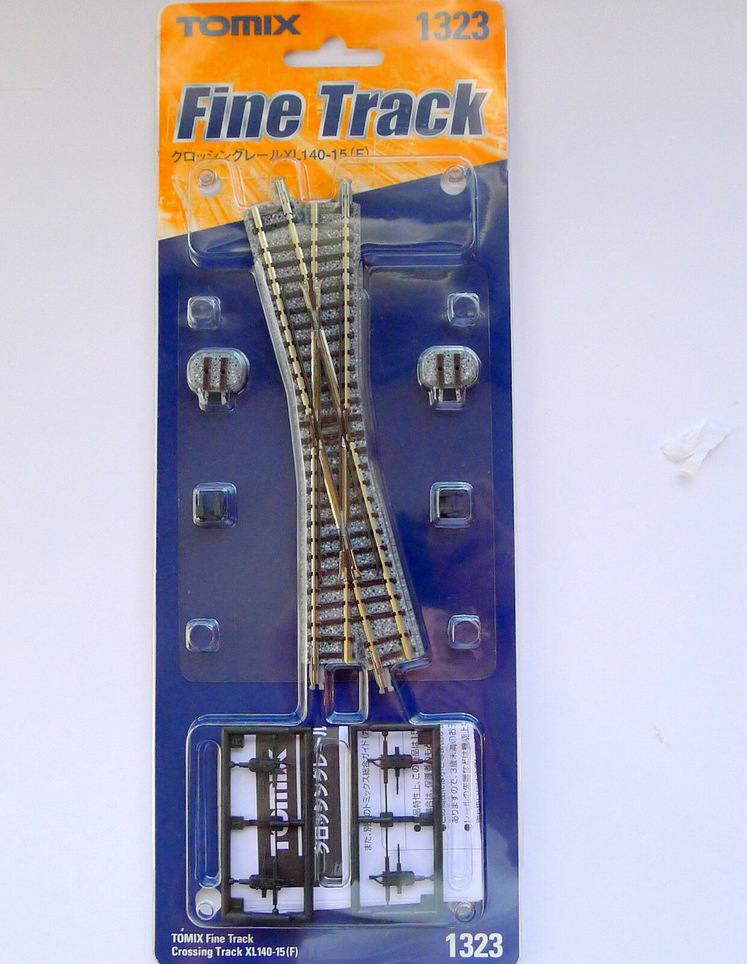 Tomix 1323 Crossing Track XL140-15(F) N Scale