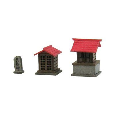Sankei N Scale MP04-55 Japanese Small Shrine B Paper Craft