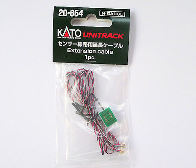Kato 20-654 Extension Cable Sensor Track Automatic Crossing Gate S N Scale
