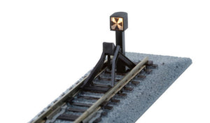 Kato 20-064 Straight Track Bumper Type C 66 mm with Illuminated Signal Light N Scale