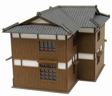 Sankei N Scale Old Favorite Diorama Series Restaurant B MP03-70 Paper Craft
