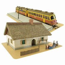 Sankei MK07-07 Studio Ghibli Zeniba House & Train Spirited Away