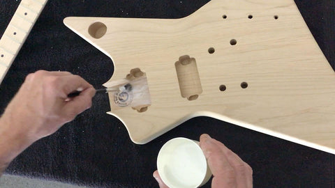 setting the neck