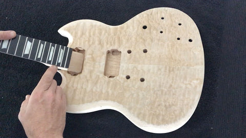 dry fitting SG neck
