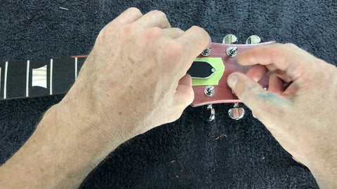 installing truss rod cover