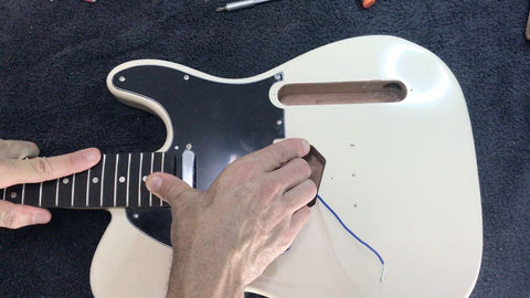 installing the neck