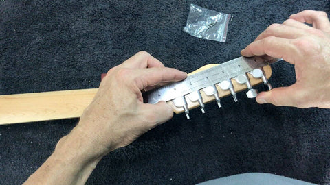 installing the first and last tuners