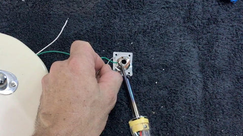 connecting the input jack
