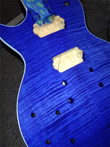 Blue LP Stain Finish