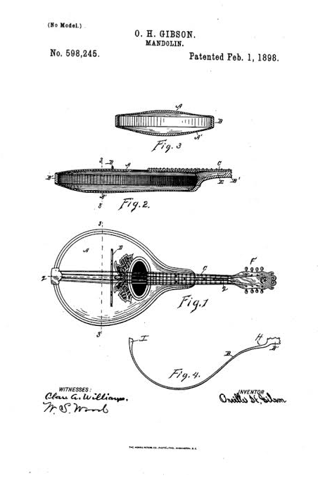 Gibson Archtop Patent