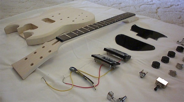 SG Guitar Kit with parts