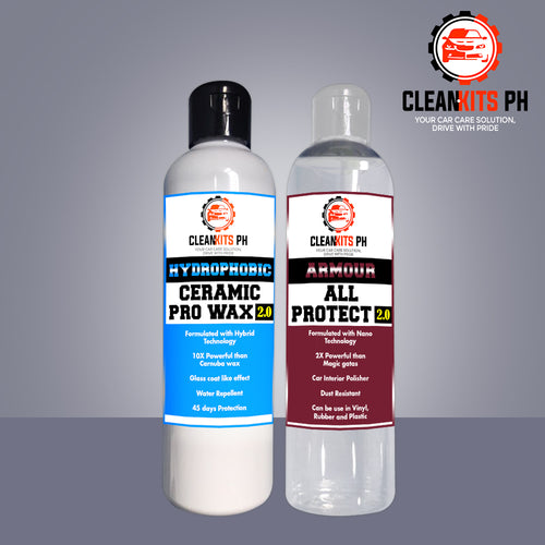 CLEANKITS 2 IN 1 PACKAGE HYDROPHOBIC AND ARMOUR ALL