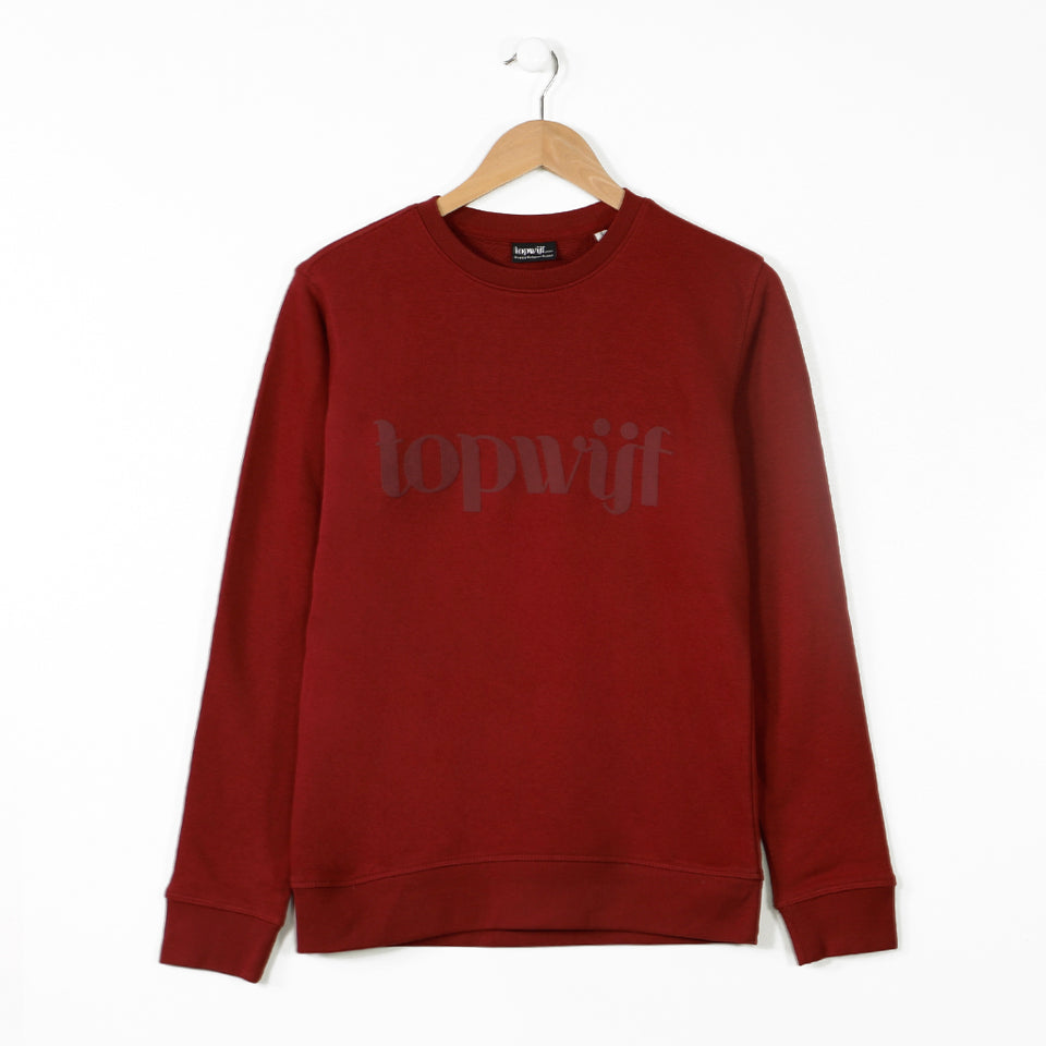 Topwijf Sweater Bordeaux