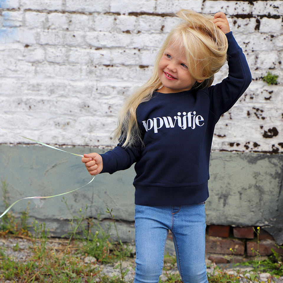 Topwijfje Sweater Navy