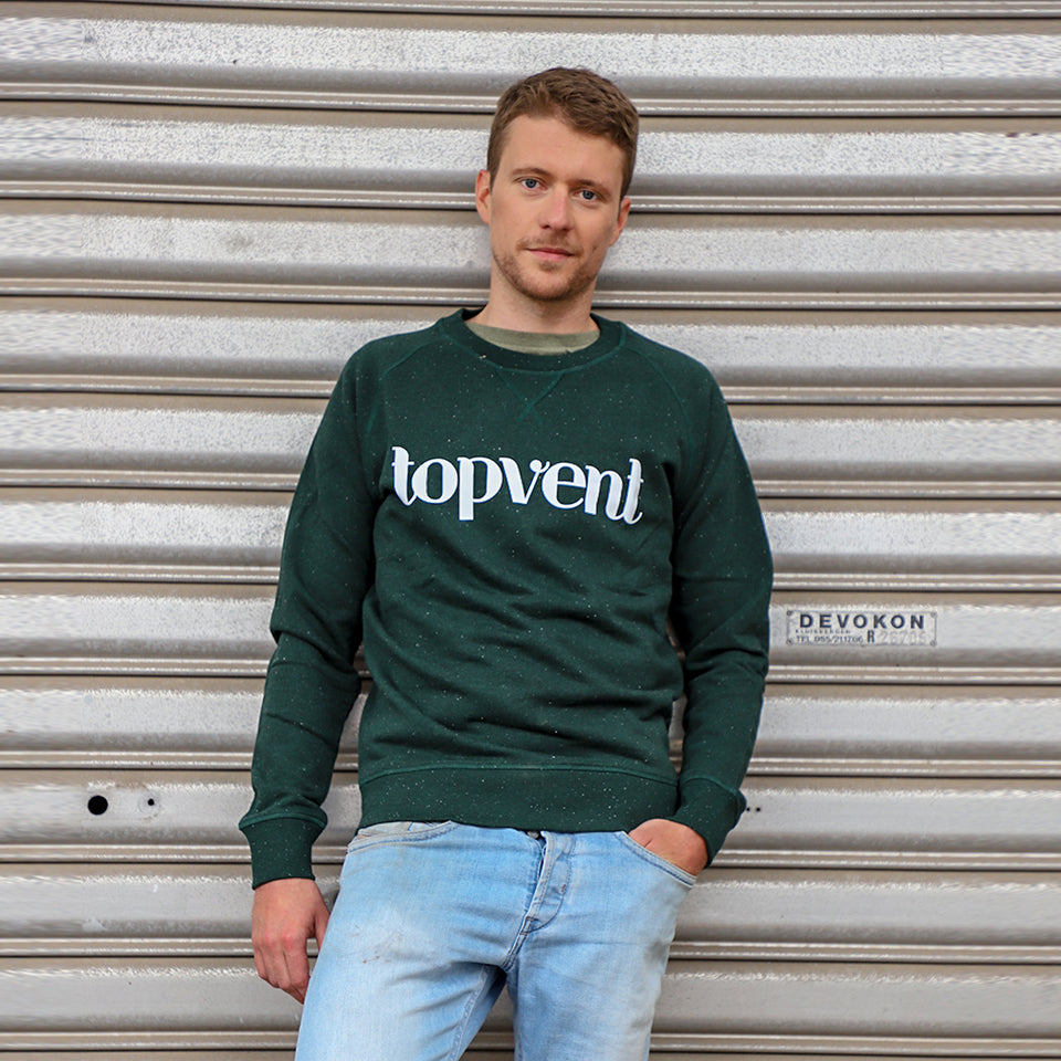 Topvent Sweater Groen