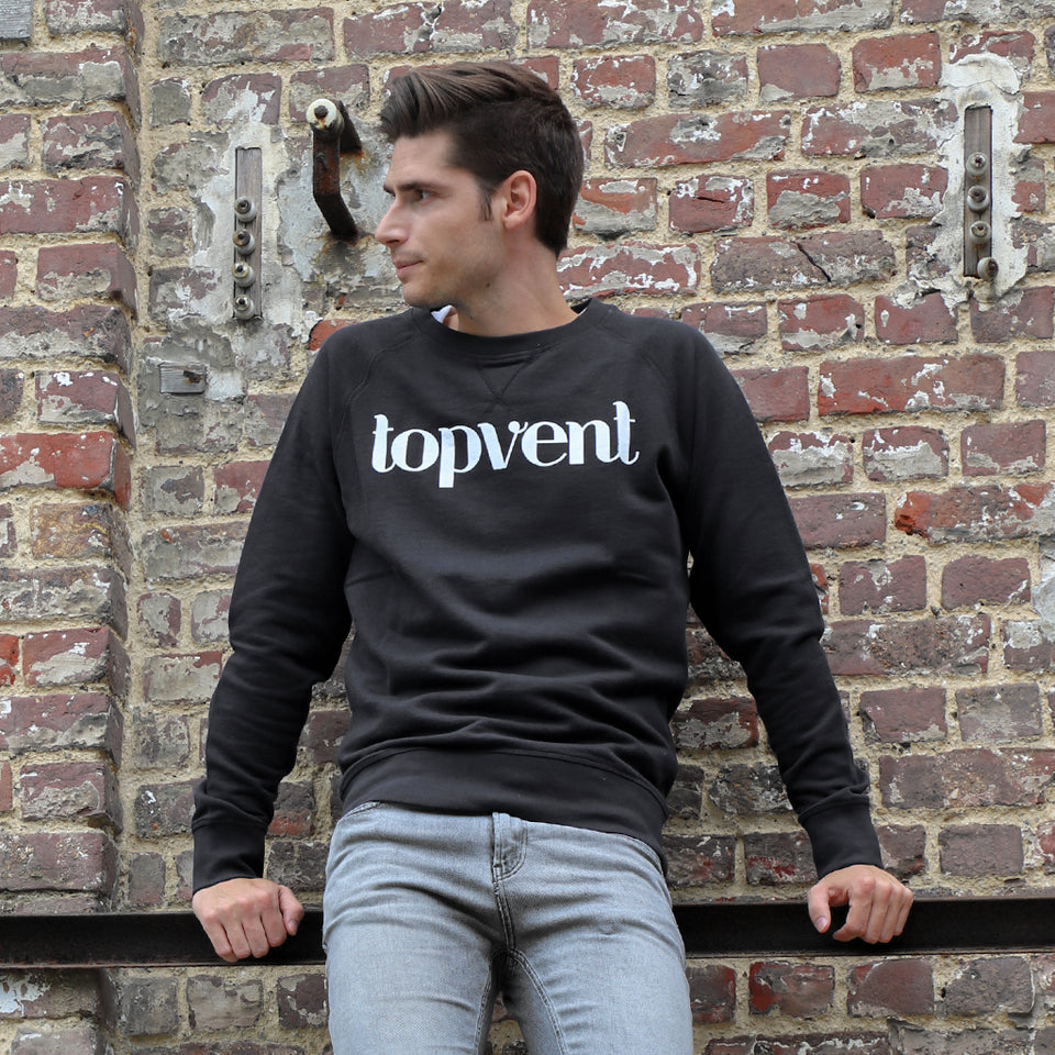Topvent Sweater Zwart