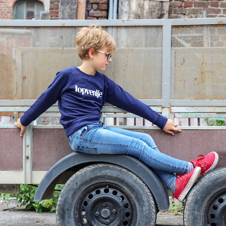 Topventje Sweater Navy