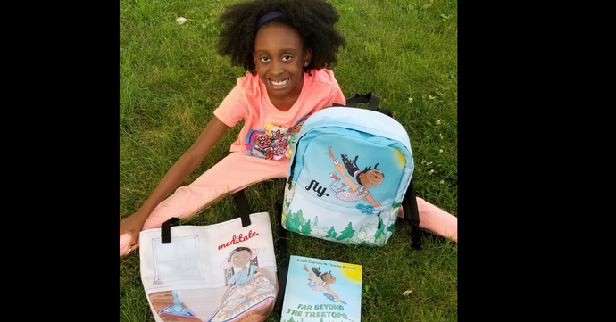 9-year-old Turns Writing Affirmations on Her Backpack into Budding Business for Kids of Color