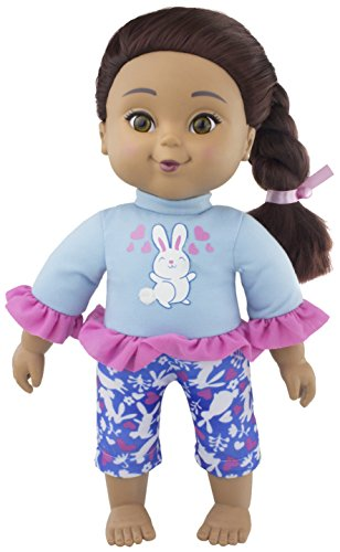 Positively Perfect Ava Hispanic Toddler Doll, 14.5