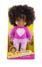 Positively Perfect Kiara African American Toddler Doll, 14.5""