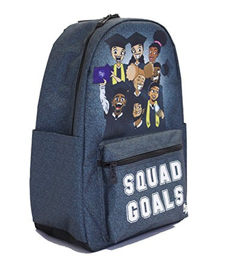 Blended Designs Squad Goals Backpack (Standard 17
