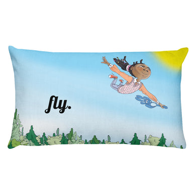 Fly Rectangular Pillow