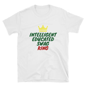 Educated Swag King T-Shirt (Adult)