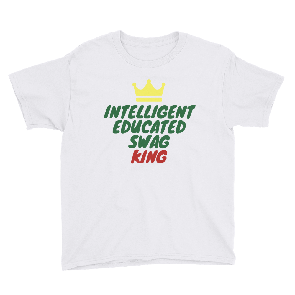 Swag King Short Sleeve T-Shirt (Youth)