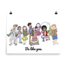 Be Like You Wall Art