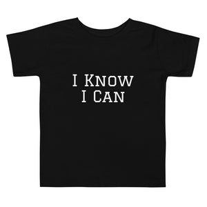 I Know I Can Short Sleeve Tee (Toddler)