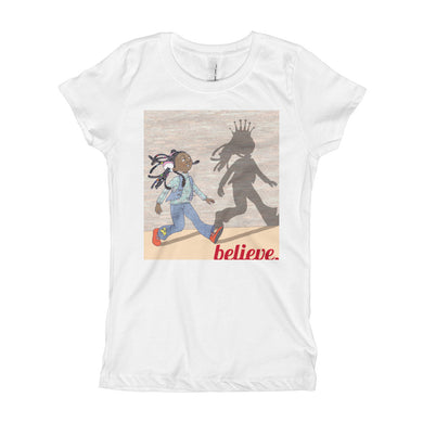 Believe Youth Girl's T-Shirt