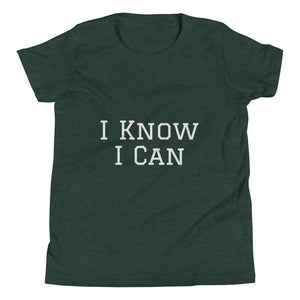 I Know I Can Short Sleeve T-Shirt (Youth)